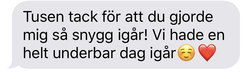Bästa bröllopsfrisör Stockholm